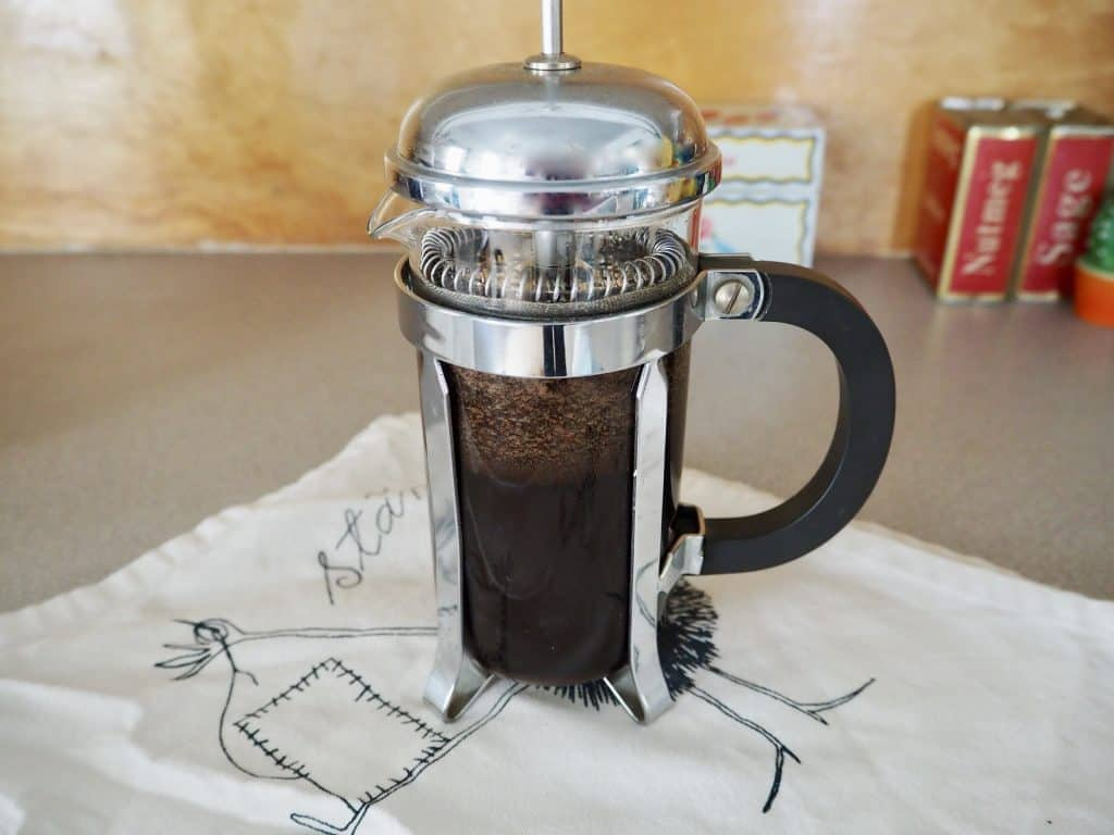 French press espresso