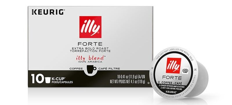 Illy Forte Extra Dark Roast K-Cups
