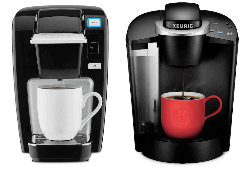 Keurig K15 vs K55 coffee makers