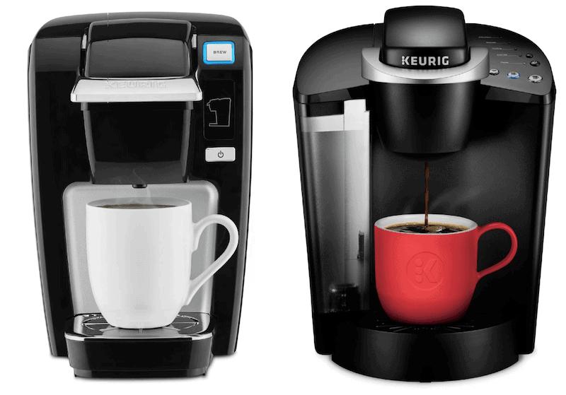 Keurig K15 vs K55 coffee makers