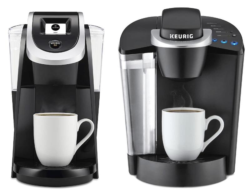 Keurig K200 vs K50 coffee makers comparison