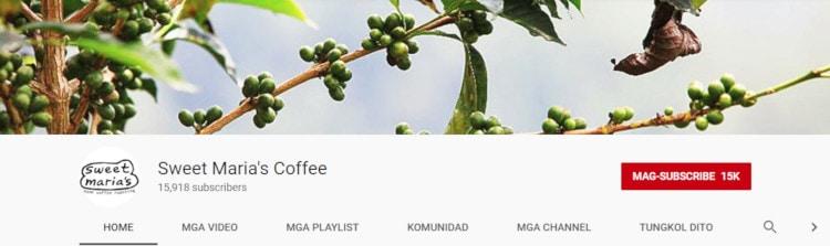 Sweet Maria's Coffee