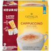 The Gevalia Cappuccino Keurig K Cup Pods