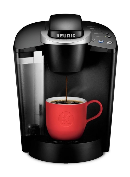 The Keurig K classic coffee maker