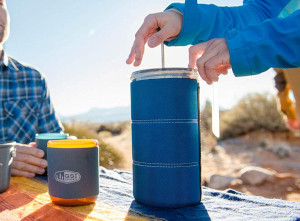 a camping french press