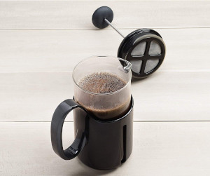 a travel french press mug