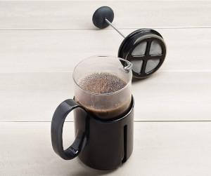 a travel french press mug