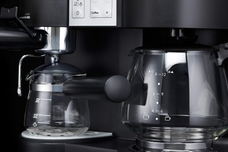 coffee and espresso maker combo combination