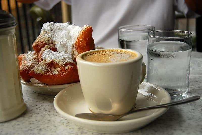American café au lait