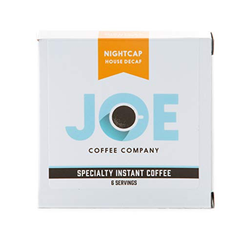 JOE Coffee Company Nightcap House Decaf Instant Coffee