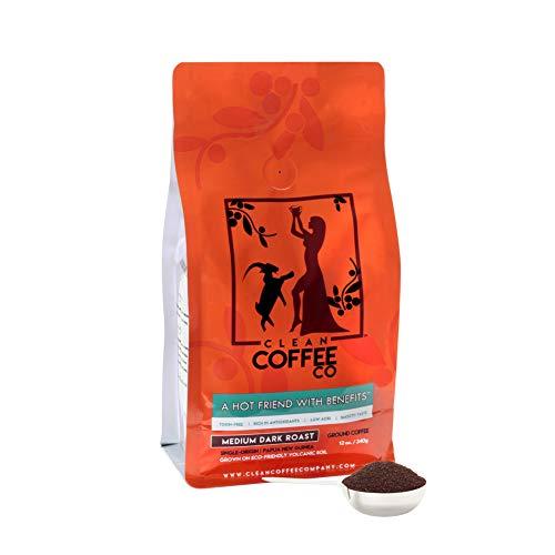 Clean Coffee Co. Ground Coffee, Medium Dark Roast