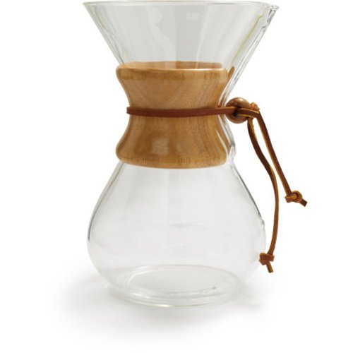 Chemex Classic Series Pour Over Glass Coffee Maker