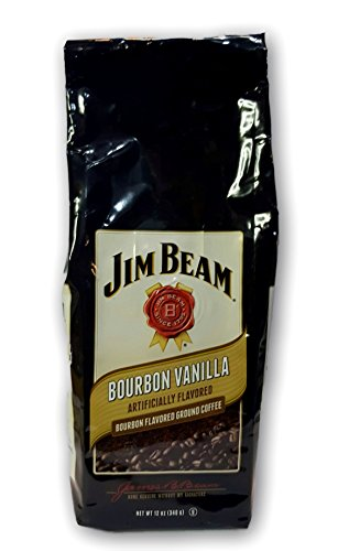 Jim Beam Bourbon Vanilla Bourbon Flavored Ground Coffee