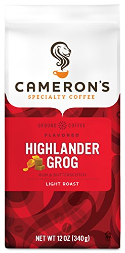 Cameron's Coffee Roasted Ground Coffee Bag, Flavored, Highlander Grog