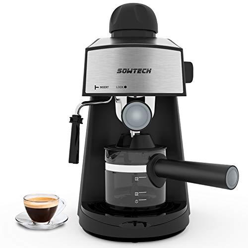 SOWTECH Espresso Machine 3.5 Bar 4 Cup Espresso Coffee Maker