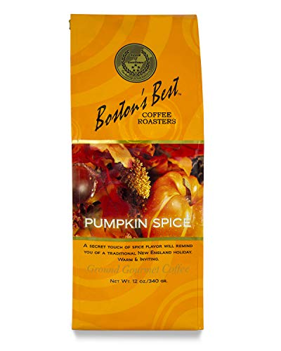 Boston's Best Coffee Roasters Pumpkin Spice Ground Coffee