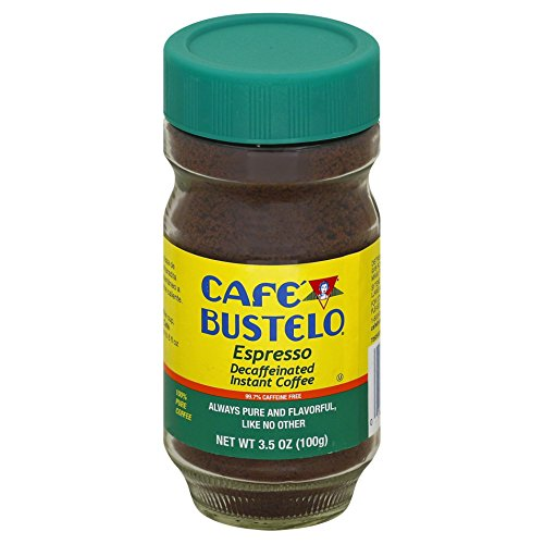 Café Bustelo Espresso Style Instant Decaf Coffee, 3.5 Ounce