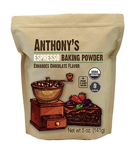Anthony's Organic Espresso Baking Powder, 5oz
