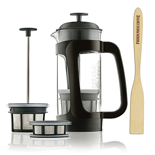 Espro P3 Glass French Press Coffee Maker (7 cups, 32 oz)