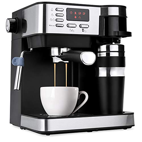 Best Choice Products 3-in-1 15-Bar Espresso, Drip Coffee, and Cappuccino Latte Maker Machine