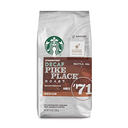 Starbucks Decaf Pike Place Ground Coffee