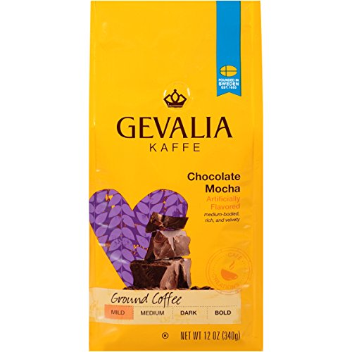 Gevalia Chocolate Mocha Mild Roast Ground Coffee