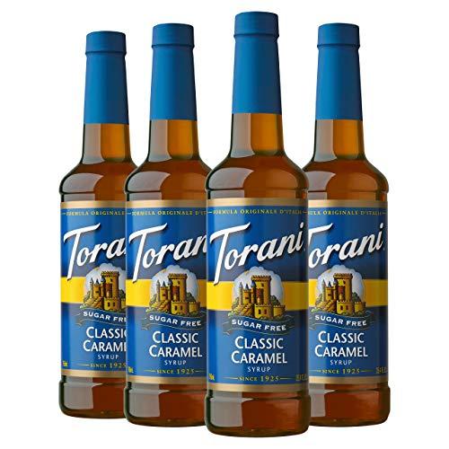 Torani 4-Pack (Caramel, French Vanilla, Vanilla & Hazelnut)