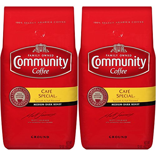 Community Coffee Ground Coffee, Cafe Special, 32-Ounce Bag