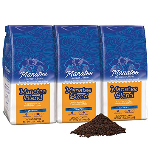 Manatee Blend Medium Roast Ground Coffee