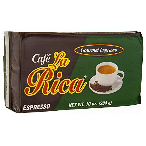 Café La Rica Gourmet Espresso, 10 Ounce