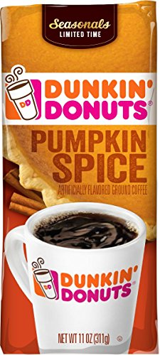 Dunkin' Donuts Pumpkin Spice Flavored Ground Coffee