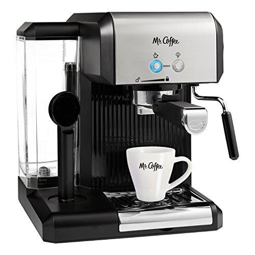 Mr. Coffee Café Steam Automatic Espresso and Cappuccino Machine