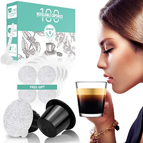 CAPMESSO Reusable Espresso Capsules (Original Line)