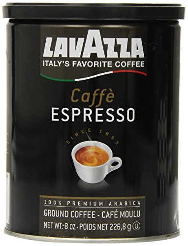 Lavazza Caffe Espresso - Ground Coffee, 8-Ounce