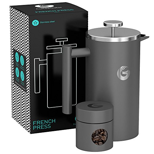Coffee Gator French Press Coffee Maker (34 oz)
