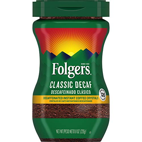 Folger's Classic Decaf Instant Coffee