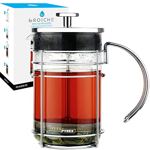 GROSCHE Madrid French Press Coffee Maker (34 oz)