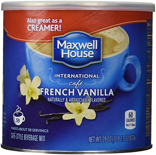 Maxwell House International Coffee French Vanilla Café