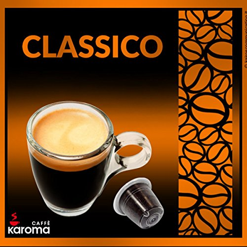 100 Karoma Capsules Compatible With Nespresso Machines