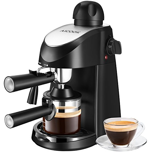AICOOK Espresso Machine, Aicook 3.5 Bar Espresso Coffee Maker