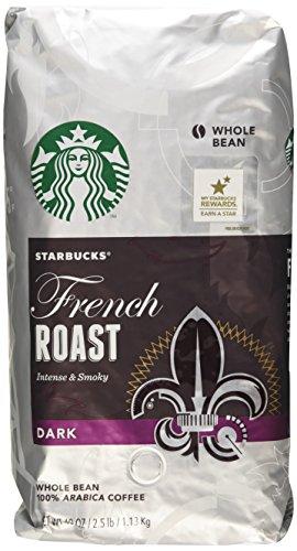 Starbucks French/Dark Roast Whole Bean Coffee