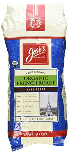 JOSE GOURMET WHOLE BEAN COFFEE MEDIUM ROAST