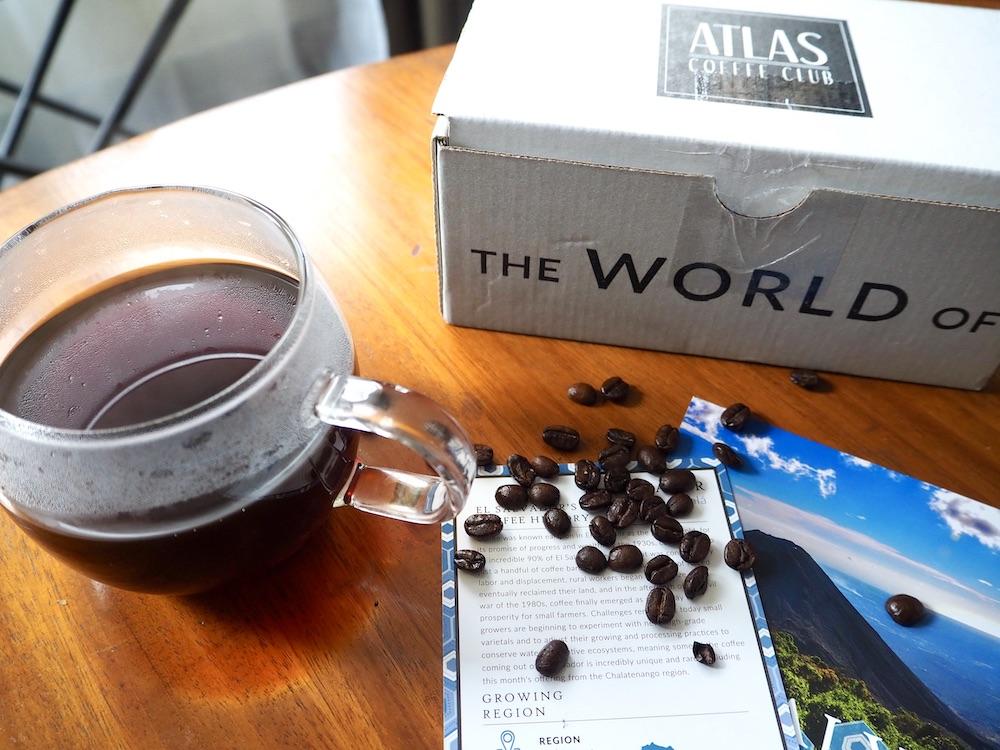 Atlas Coffee Club coffee subscription tasting
