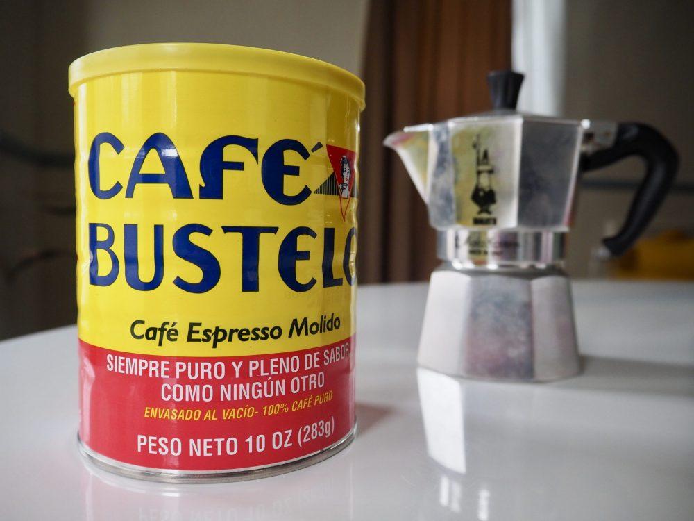 Café con leche Moka pot