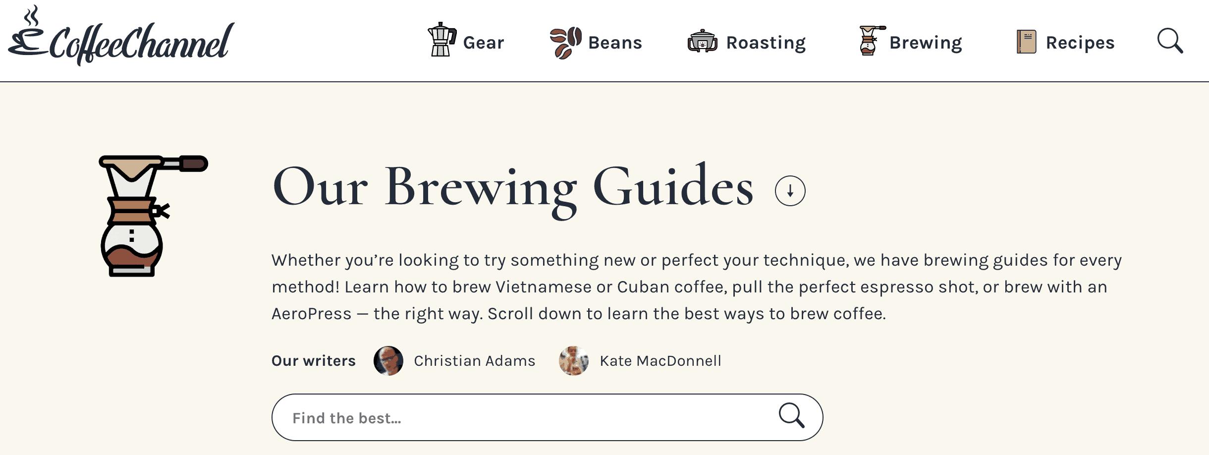 Coffee-Channel blog