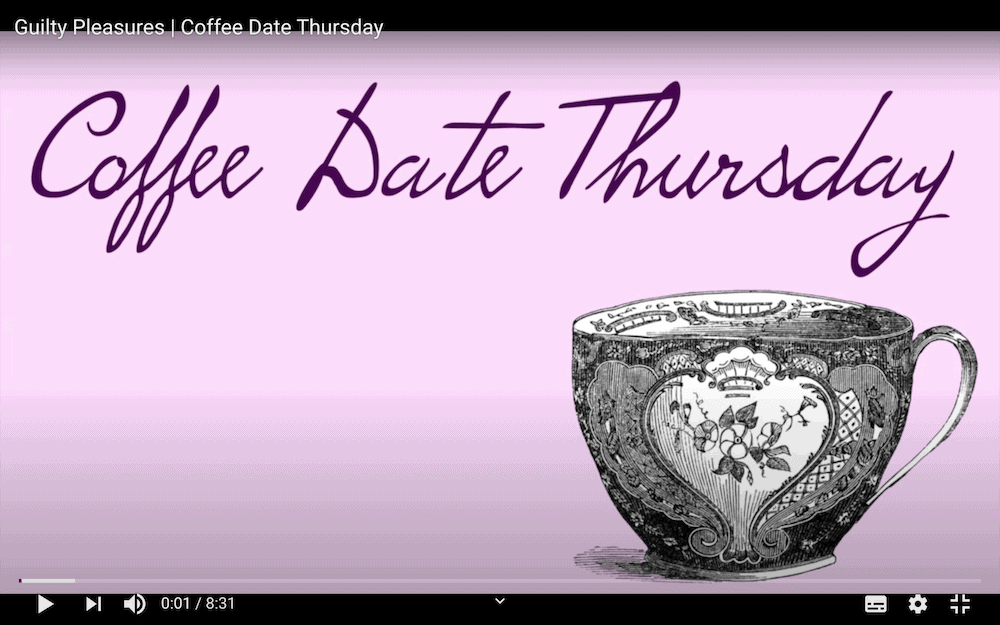 Coffee Date Thursday YouTube