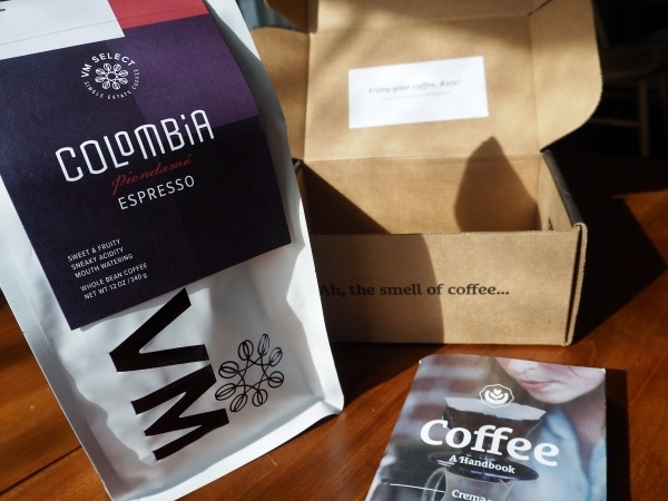 A Closer look at the Cafe Crema subscription