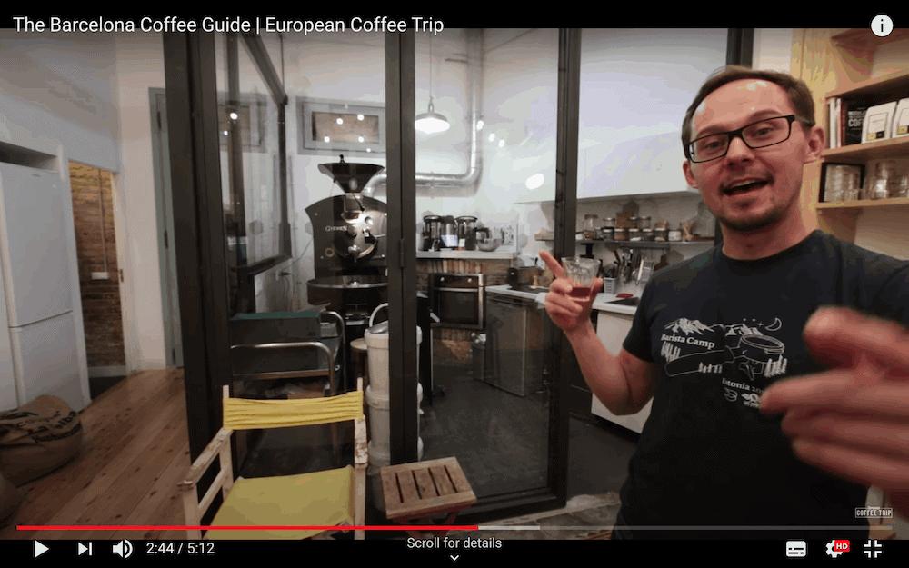 European Coffee Trips YouTube Channel