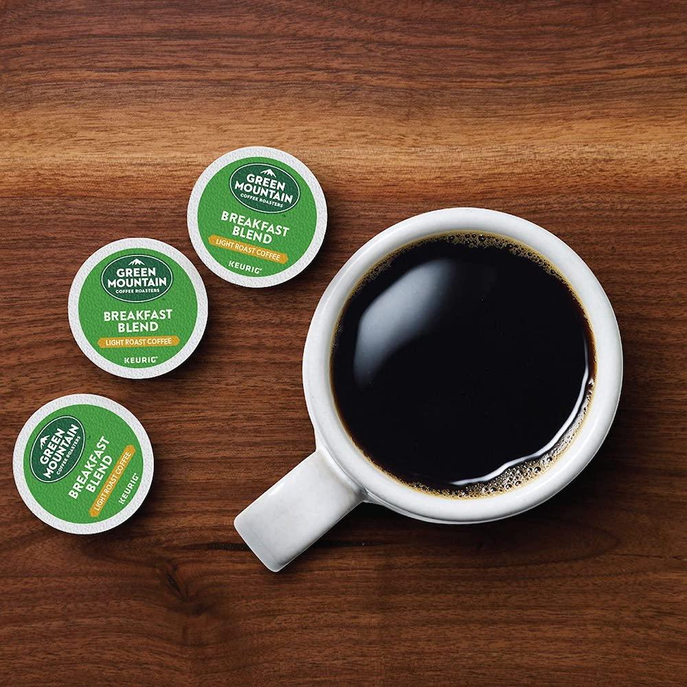 Green Mountain Breakfast Blend coffee