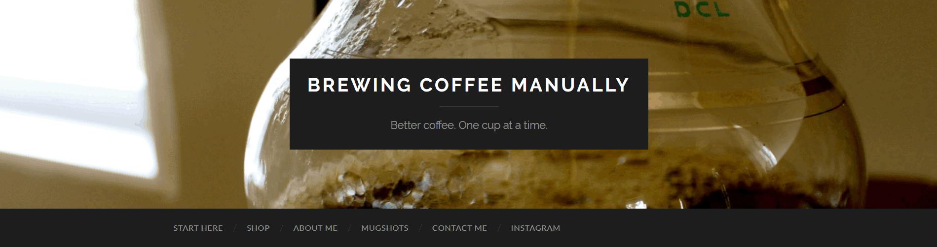 Manual Coffee Brewing